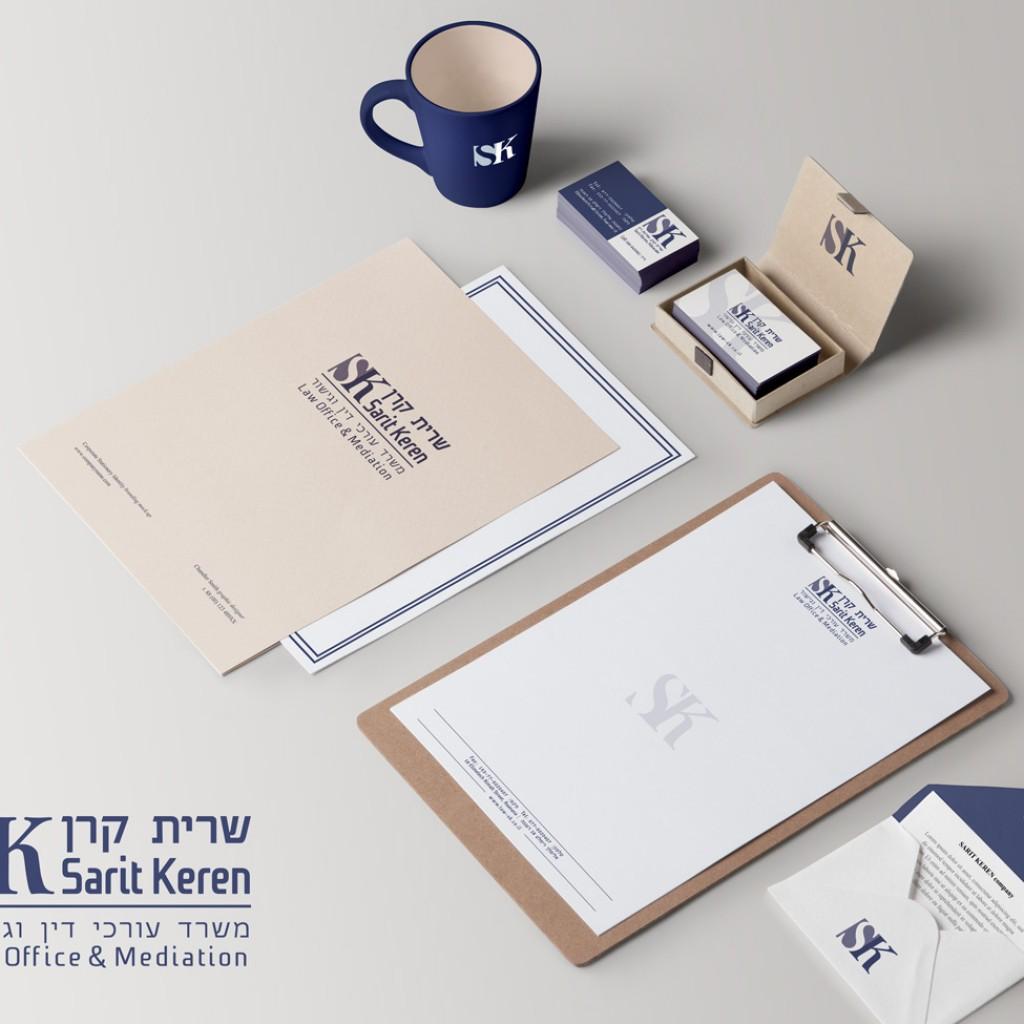 עיצוב לוגו משרד עורכי דין וגישור