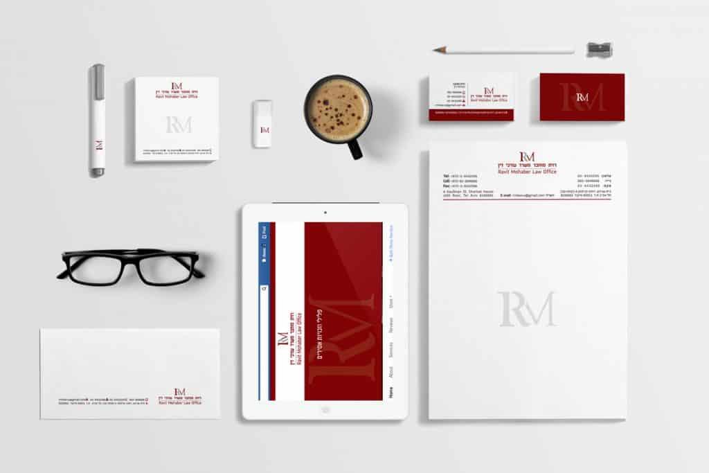 חבילת מיתוג עורכי דין