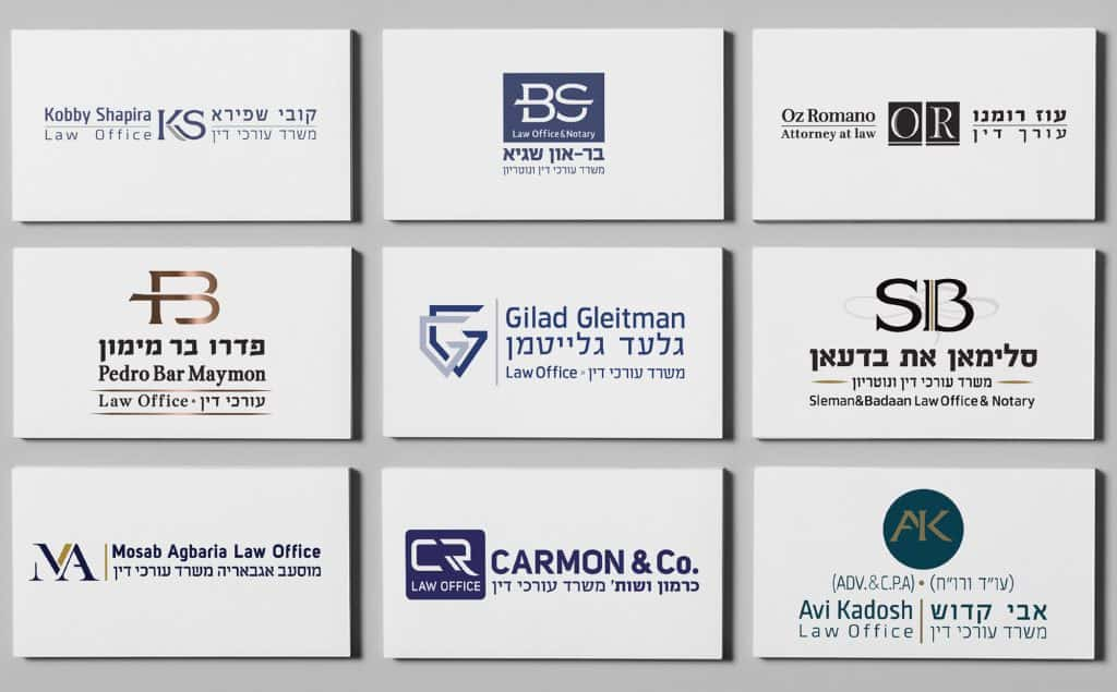פרויקטים מיתוג עורכי דין