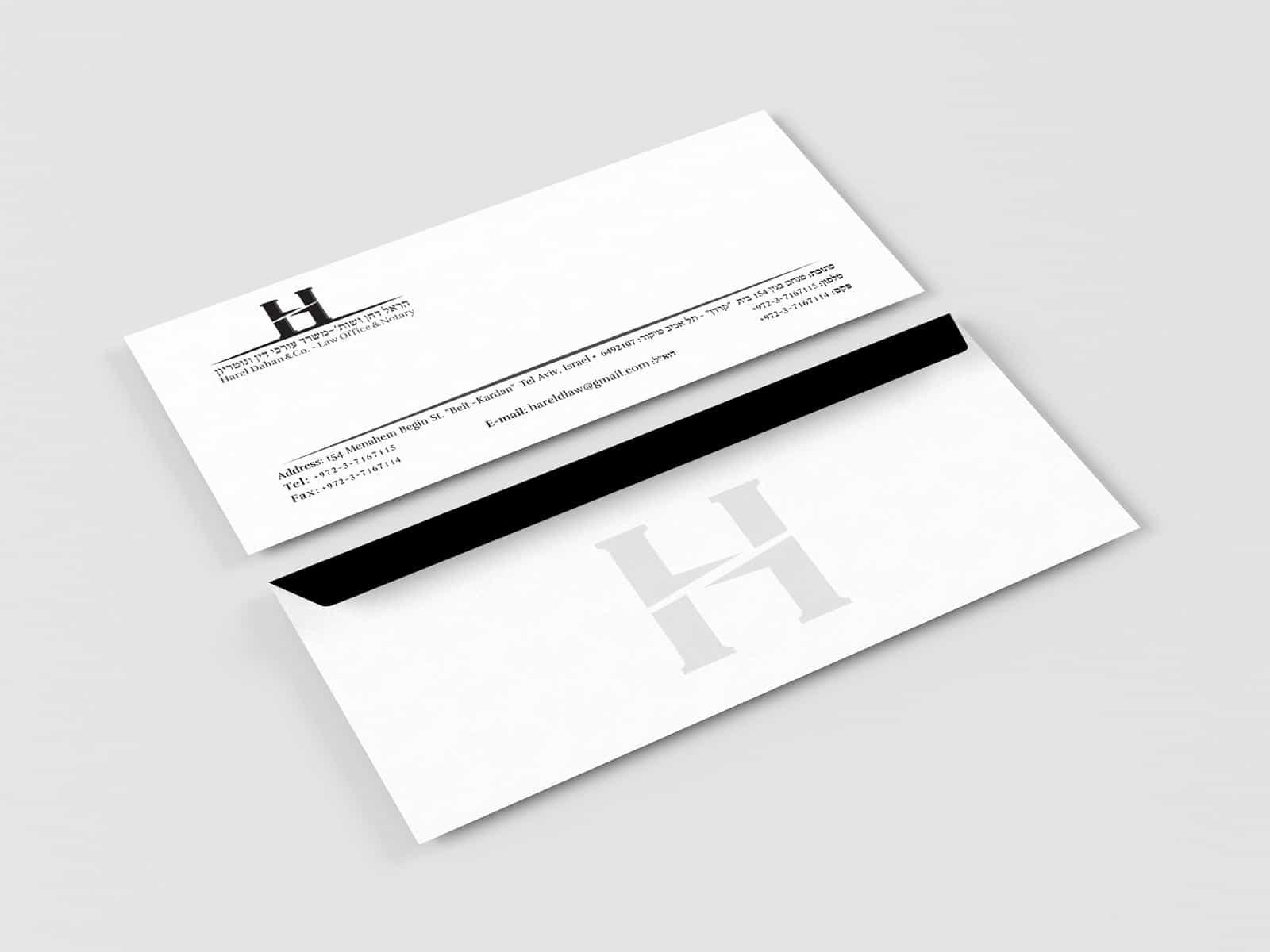 עיצוב ניירת לעורך דין
