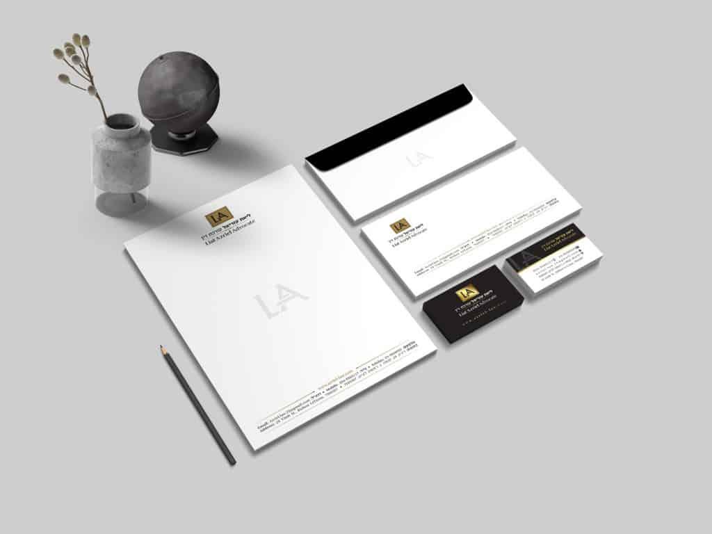 לוגו לעורך דין ומיתוג ניירת - ליאת עזריאל