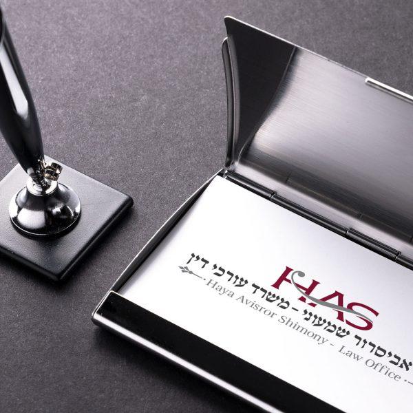 עיצוב לוגו לעורכת דין ורואת חשבון-חיה