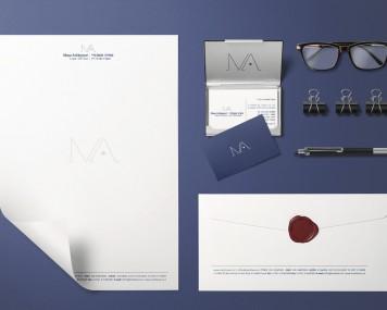 חבילת עיצוב משרד עורכי דין מאיה אשכנזי